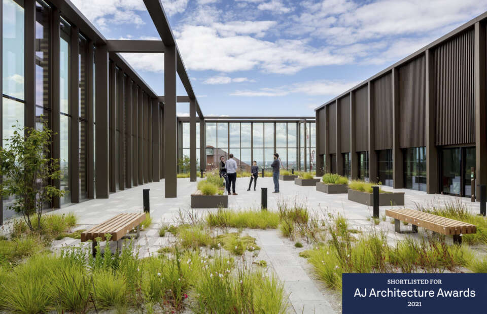 14 Westfield Avenue named a finalist in the AJ Architecture Awards