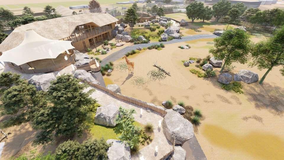 Chester Zoo 'Grasslands' given green light