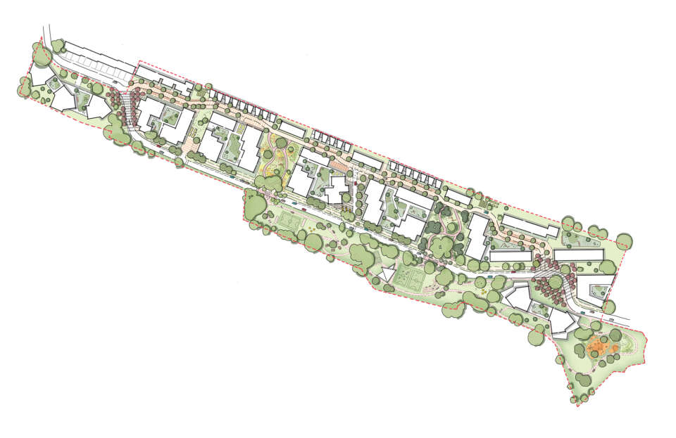 Residents vote in favour of Convent Way Estate transformation plans