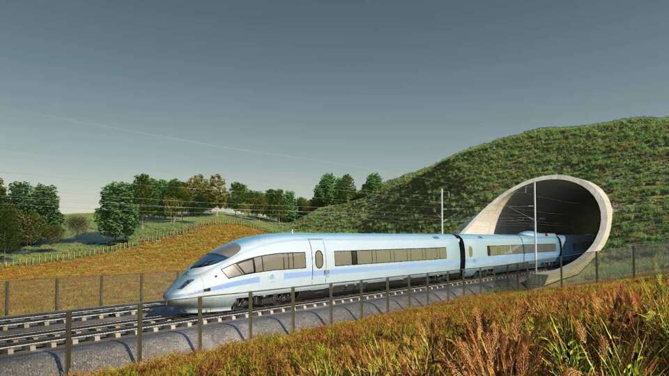 HS2 Phase 2a gets Royal Assent