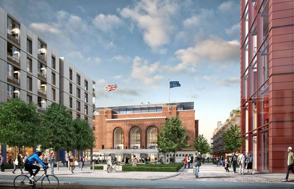Hammersmith & Fulham Civic Campus wins the NLA People's Choice Award