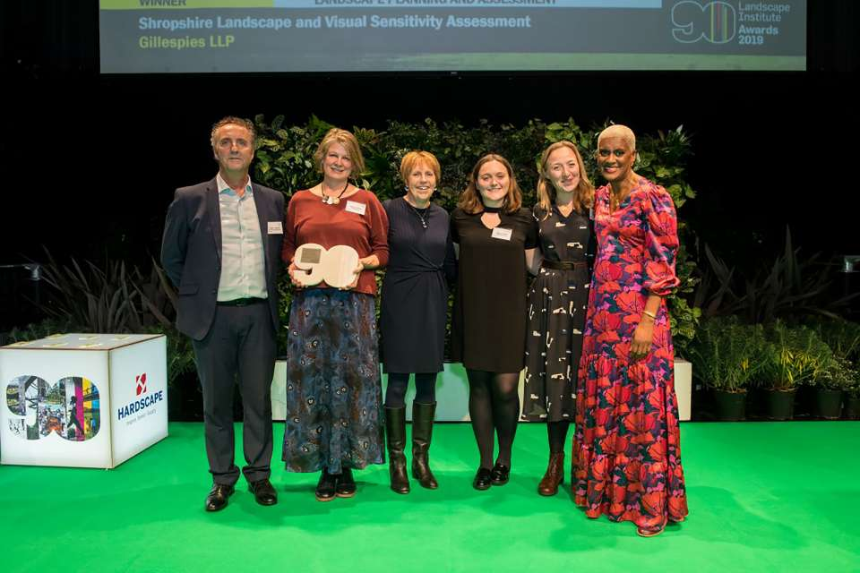 Gillespies wins coveted Landscape Institute Award for Planning and Assessment