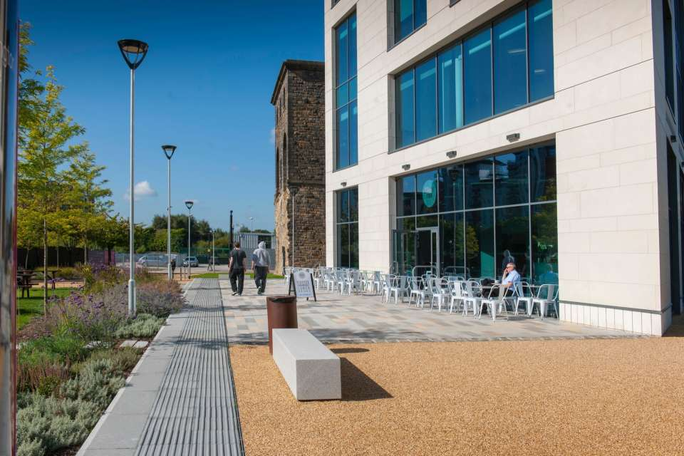 Tower Square in Leeds opens to the public