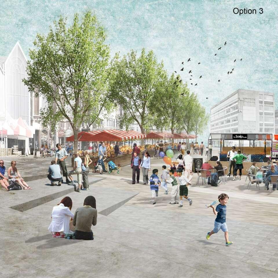 Preferred vision chosen for Northampton Market Square