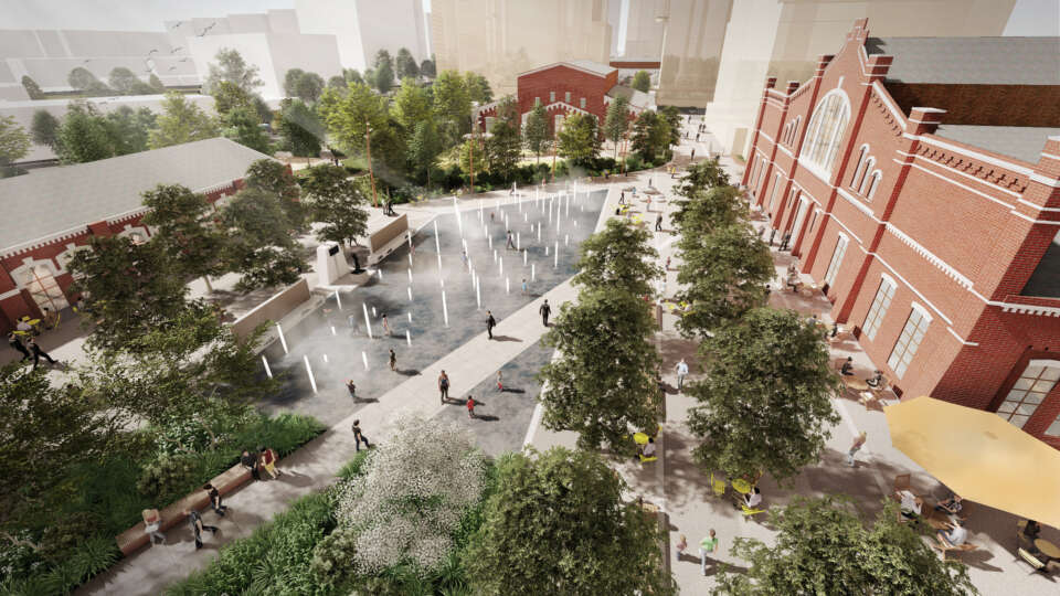 Gillespies wins international competition to deliver an 'eco-friendly, healthy' landscape for Presnensky Val 27 in Moscow