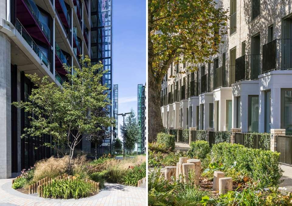 Riverlight and South Gardens awarded RIBA London Awards 2018