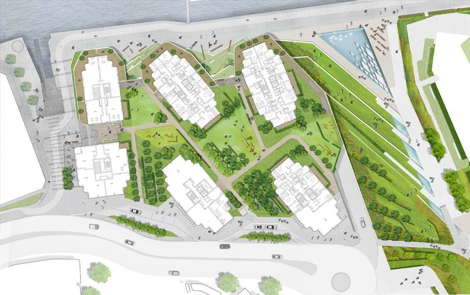 Planning granted for The Waterfront Royal Arsenal Plot A
