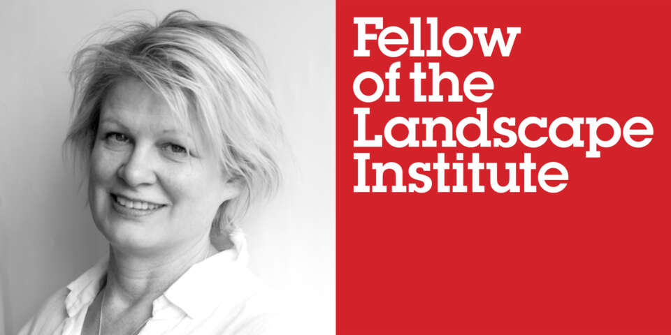 Sarah Gibson awarded Fellowship of Landscape Institute