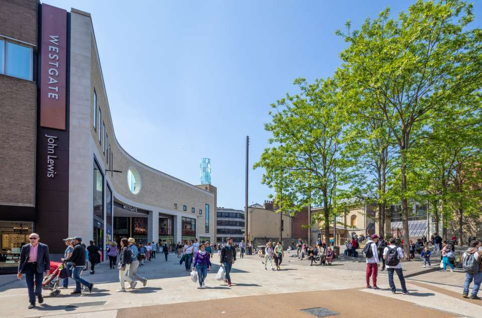 Westgate Oxford shortlisted for 2019 ICSC European Shopping Centre Awards