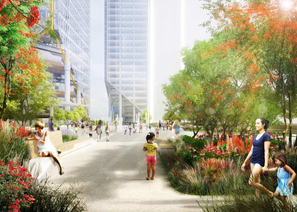 Gillespies behind the new landscape designs for the ATRIO development in Bogotá, Colombia