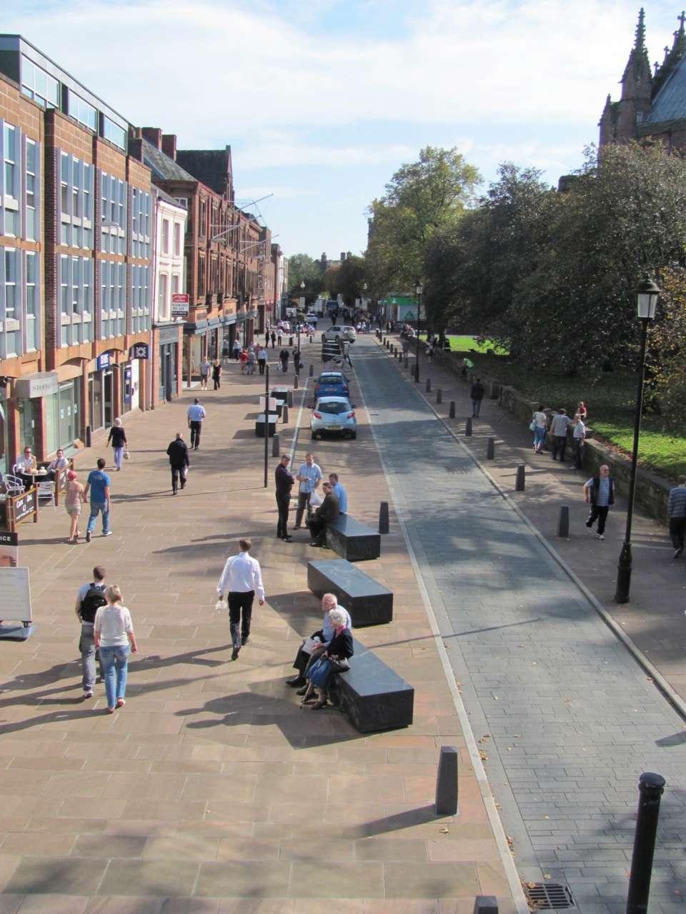 Urban Design Group Award nomination for Carlisle's city centre