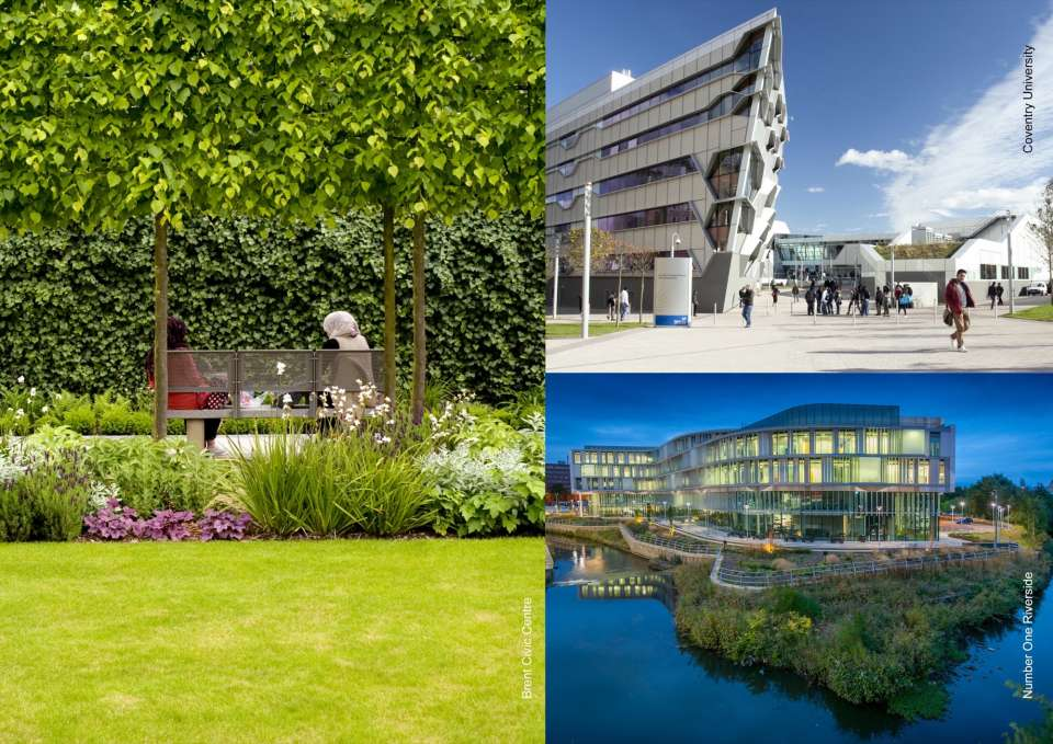 Civic Trust Awards 2014: Gillespies designed the landscapes for three award-winning projects