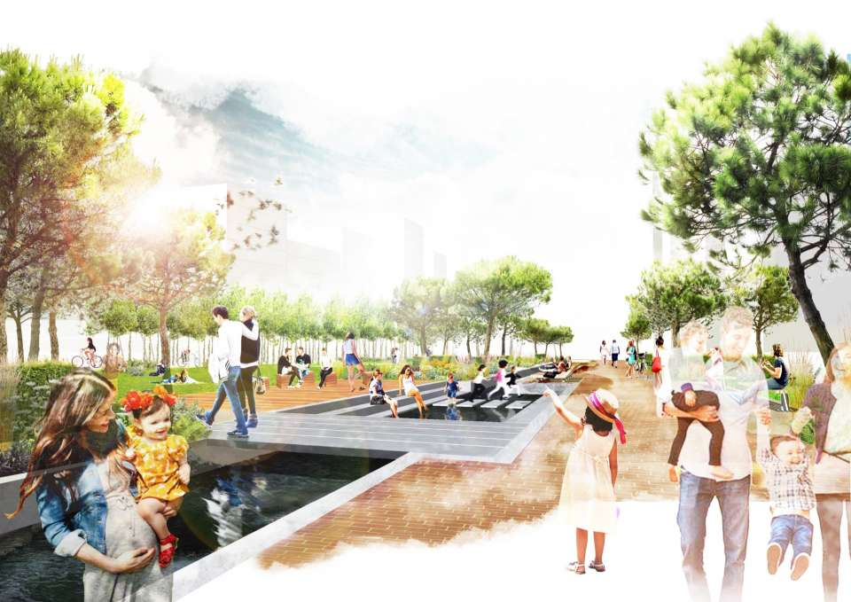 Gillespies appointed to deliver the new landscape designs for Phase A of the Southall Waterside Masterplan