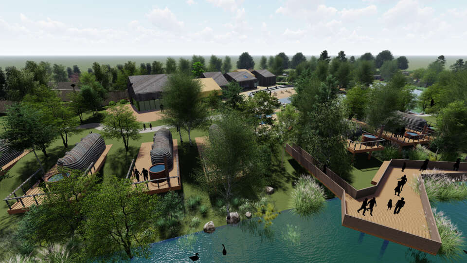 Plans submitted for a new holiday development in West Wicklow