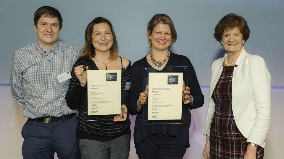 Success at the 2015 Landscape Institute Awards