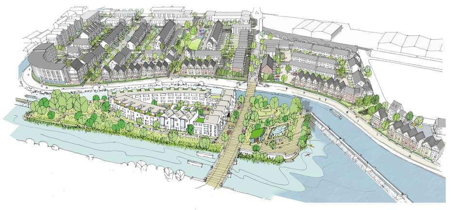 Plans submitted for Leicester Waterside
