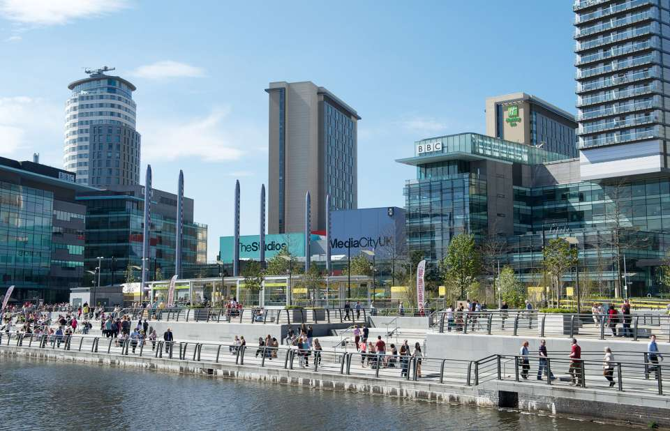 MediaCityUK in the running for 'Best Urban Regeneration Project' at the 2017 MIPIM Awards