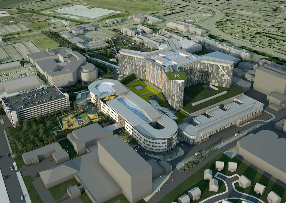 Gillespies wins New Glasgow Hospital Project