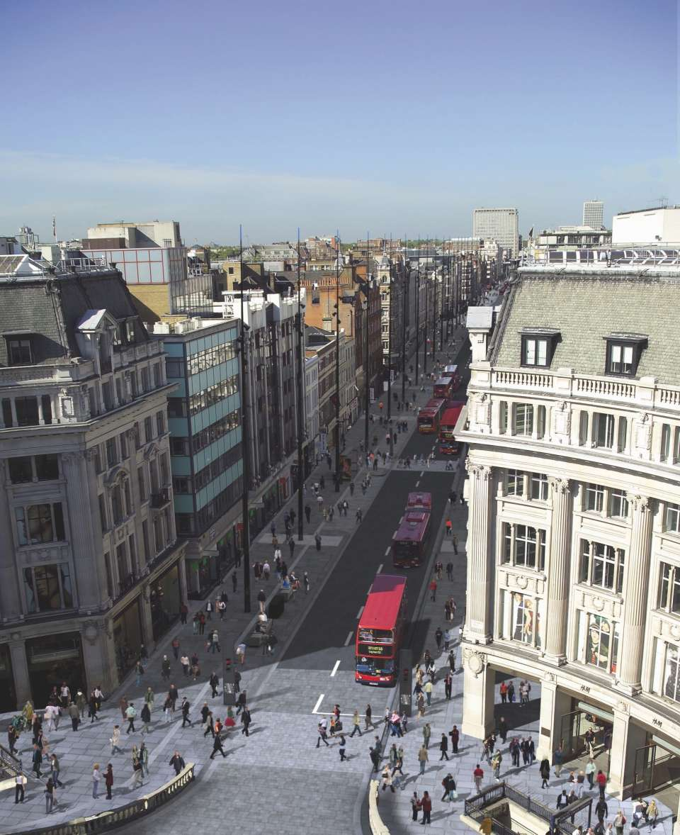Europe's largest high street to be significantly revamped