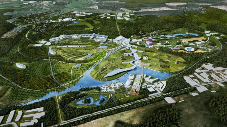 Park Russia: Gillespies leads design team for winning entry