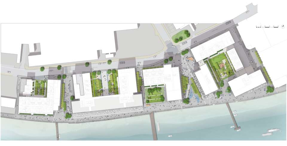 Planning granted for Fulham Riverside West, scheme for 475 new homes on the Thames