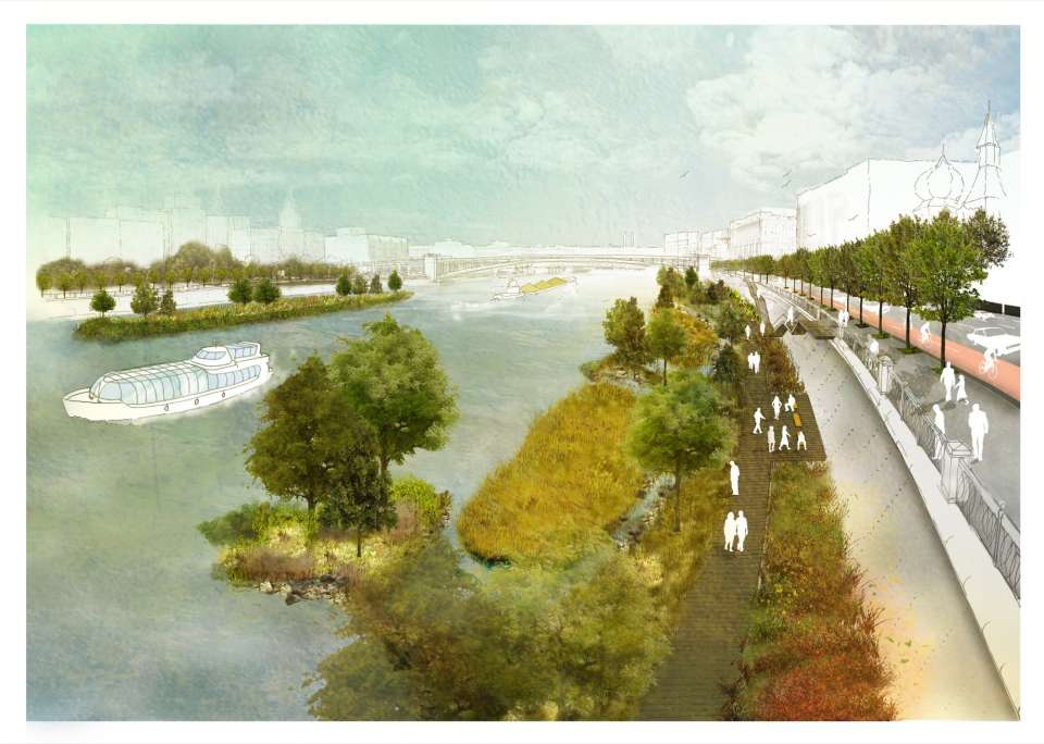 Competition win: River Moscow for Project Meganom and Gillespies