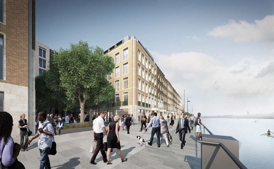 Royal Albert Docks: Gillespies' design contributes to the successful hybrid planning application for redevelopment
