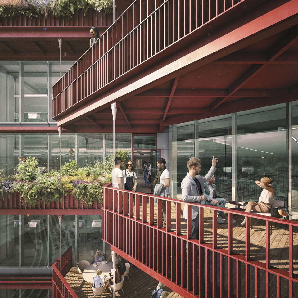 Approval for hanging gardens at 3 Sheldon Square