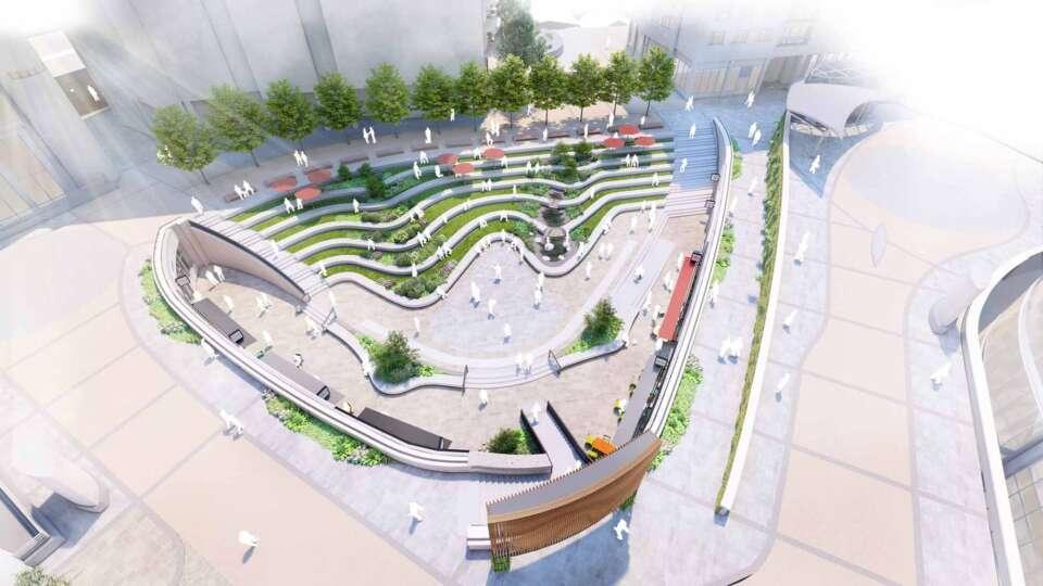 Consultation launched for Paddington Central Amphitheatre