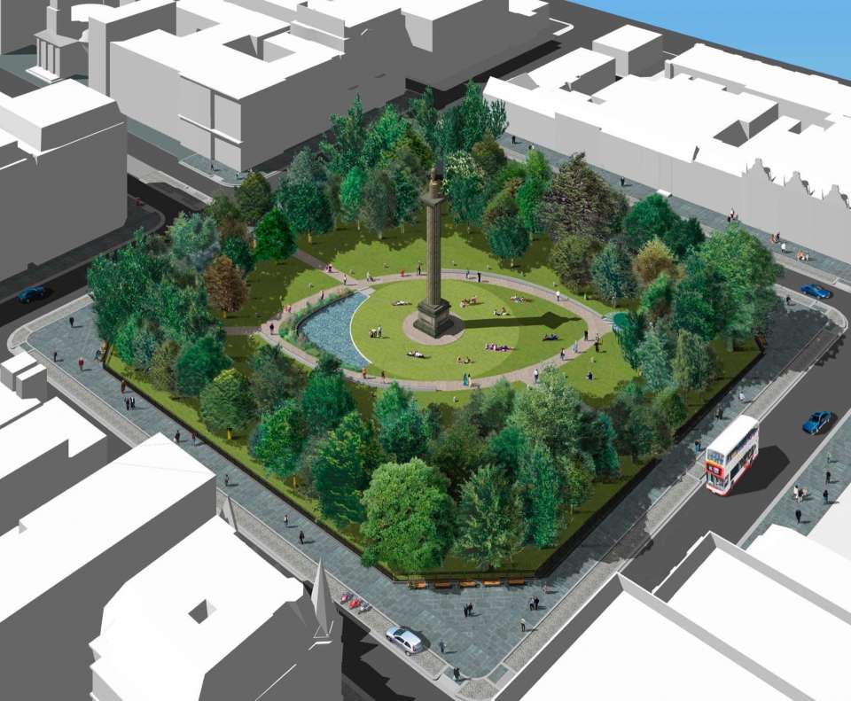St. Andrew Square transformation set to begin
