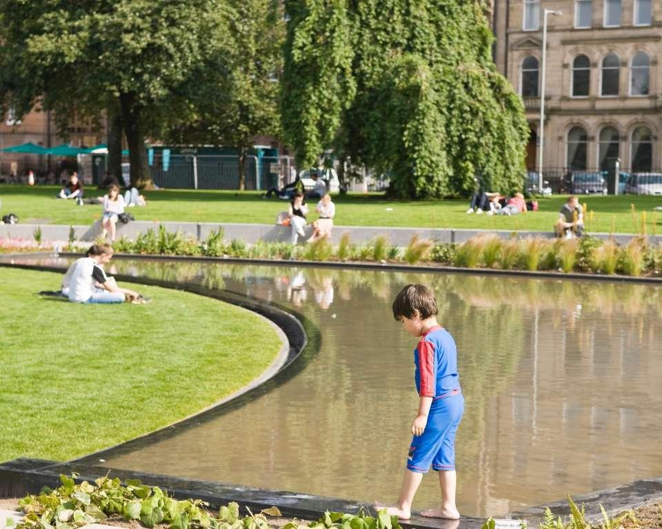 St Andrew Square in Edinburgh wins top design award