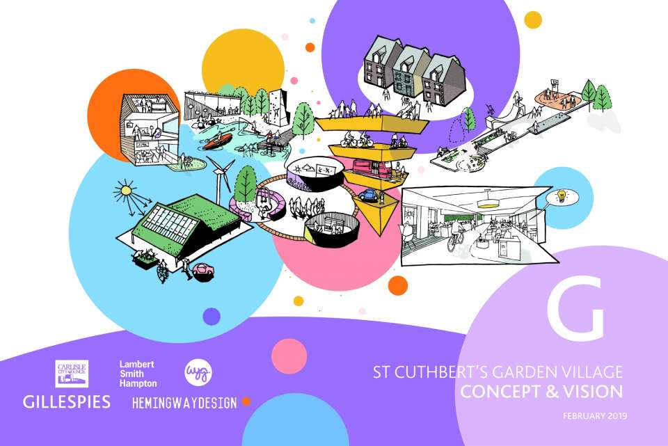 St Cuthbert's Garden Village Concept and Vision Report Published
