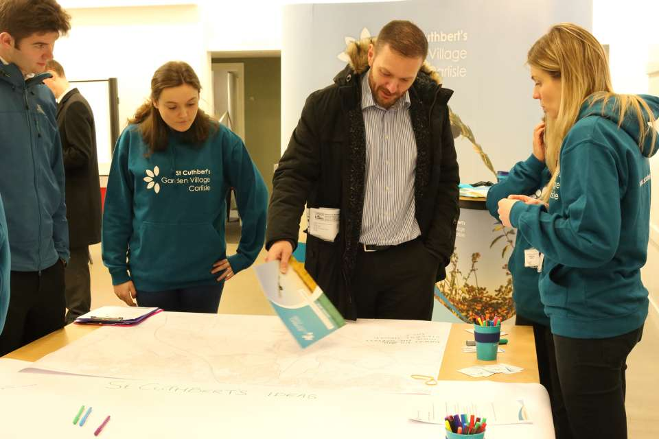 Gillespies lead public consultations for 10,000-home garden village in Carlisle