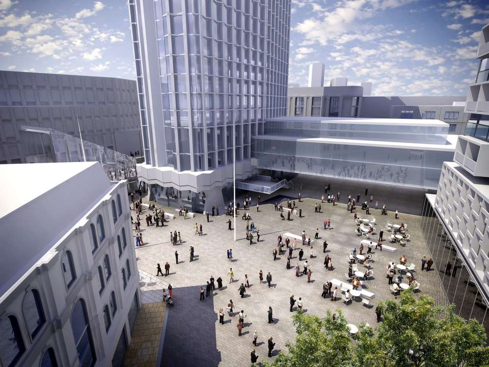 Crossrail Places & Spaces Exhibition: urban realm and development on the Crossrail route
