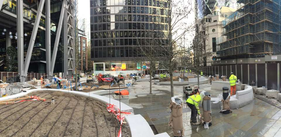 Onsite at St Helen's Square