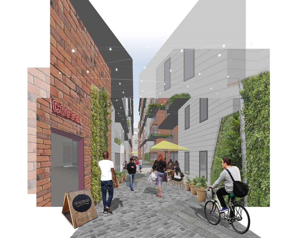 Green light for the first phase of St John's Neighbourhood, Manchester