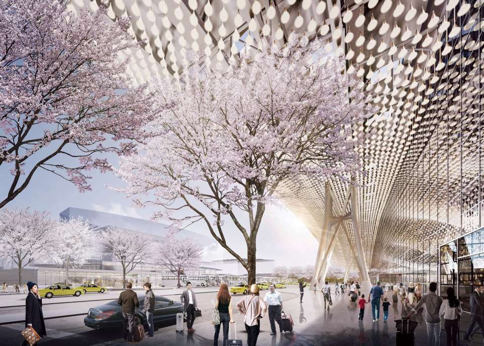 Gillespies appointed to deliver landscape designs for Taoyuan Airport T3