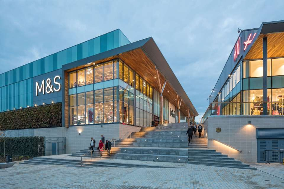 Gillespies delivers a new public realm as part of the extensive regeneration of Bracknell Town Centre
