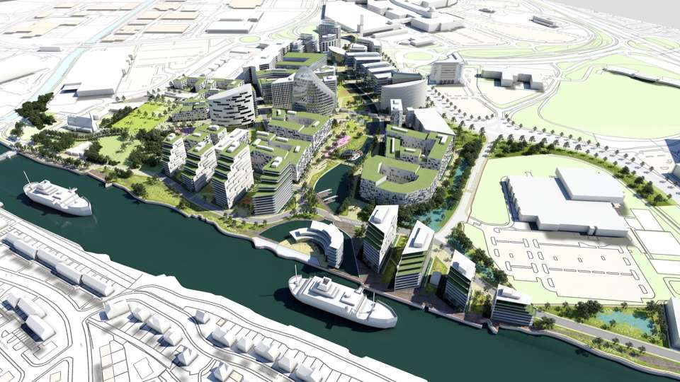 Trafford Waters development given the green light by Trafford Council