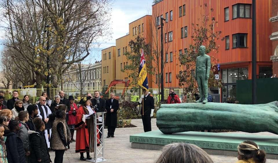 Walworth Square War Memorial Unveiled