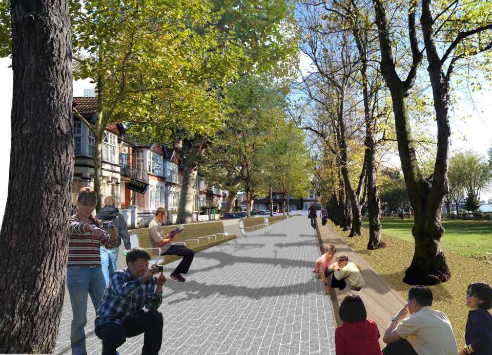 Breathtaking transformation planned for Warrior Square Gardens
