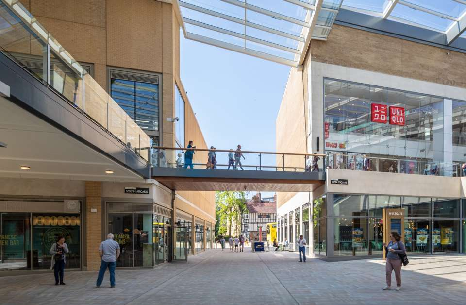Westgate Oxford scoops Commercial Project of the Year at the 2018 British Construction Industry Awards