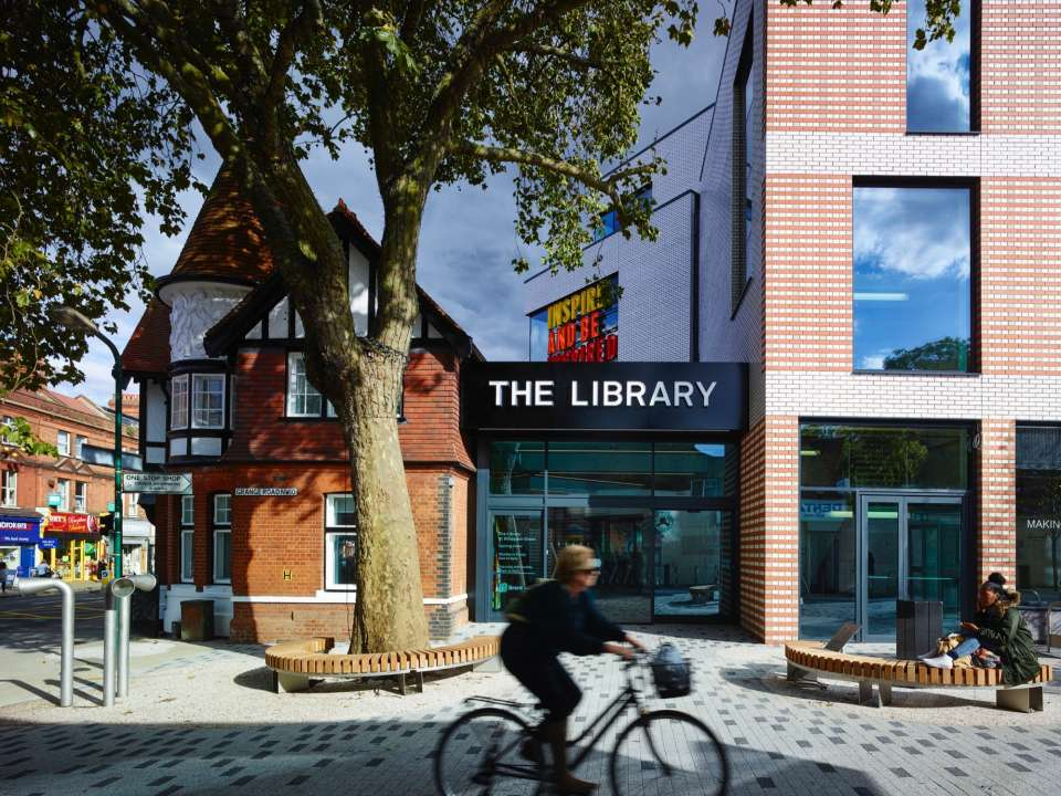 The Library at Willesden Green opens