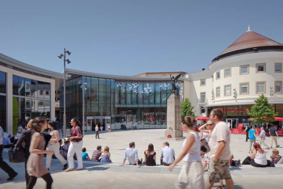 Town centre revival in Woking as Jubliee Square completes