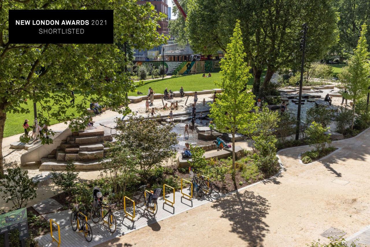 NLA Award Shortlist hat-trick for The Park within Elephant Park