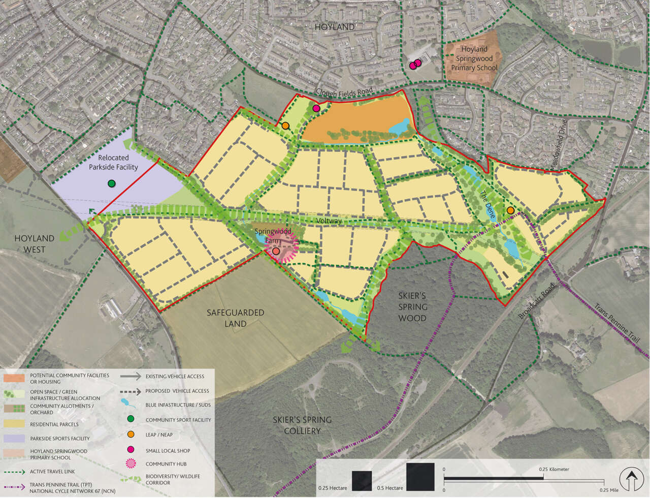 Hoyland South and Royston Masterplan Frameworks adopted by Barnsley council