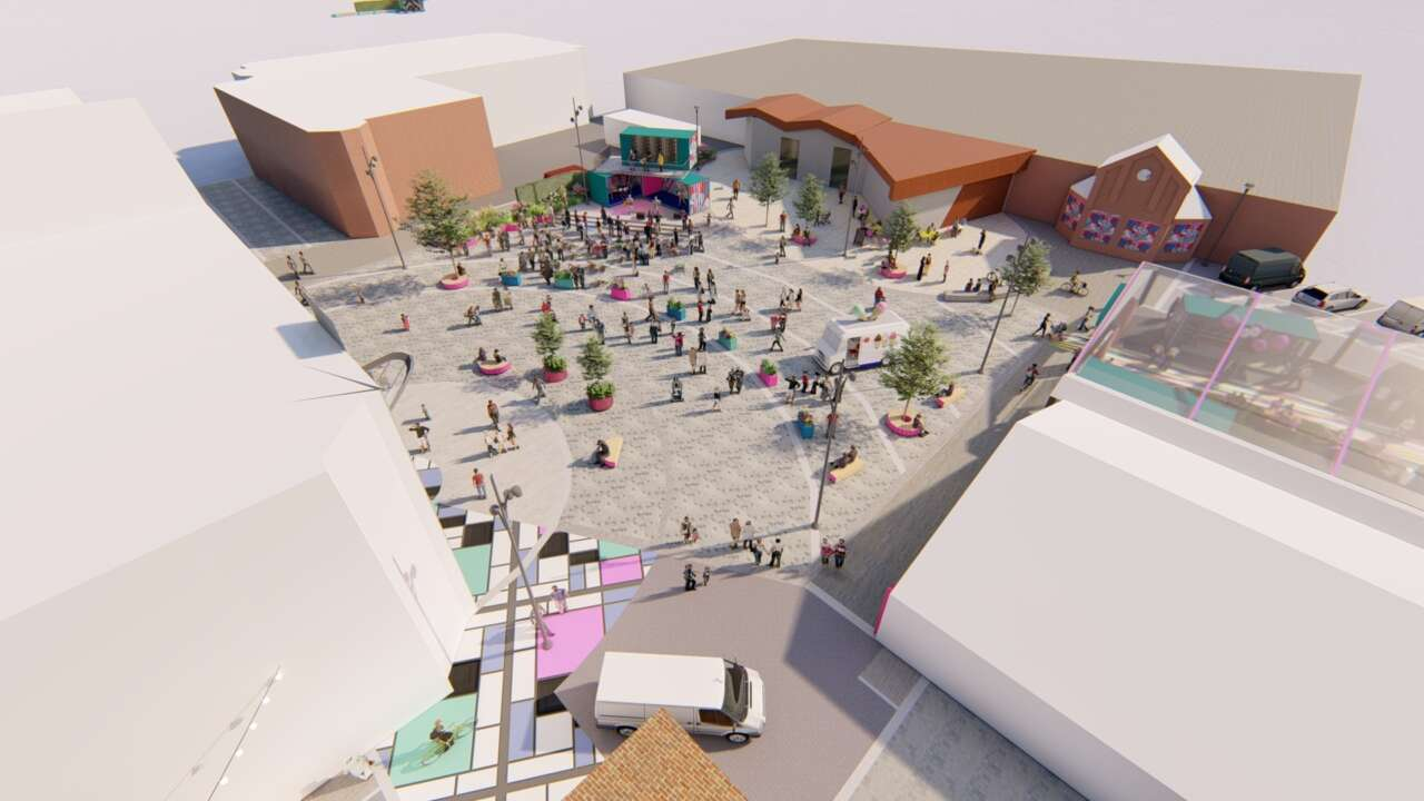 Proposals submitted for Crewe's Lyceum Square