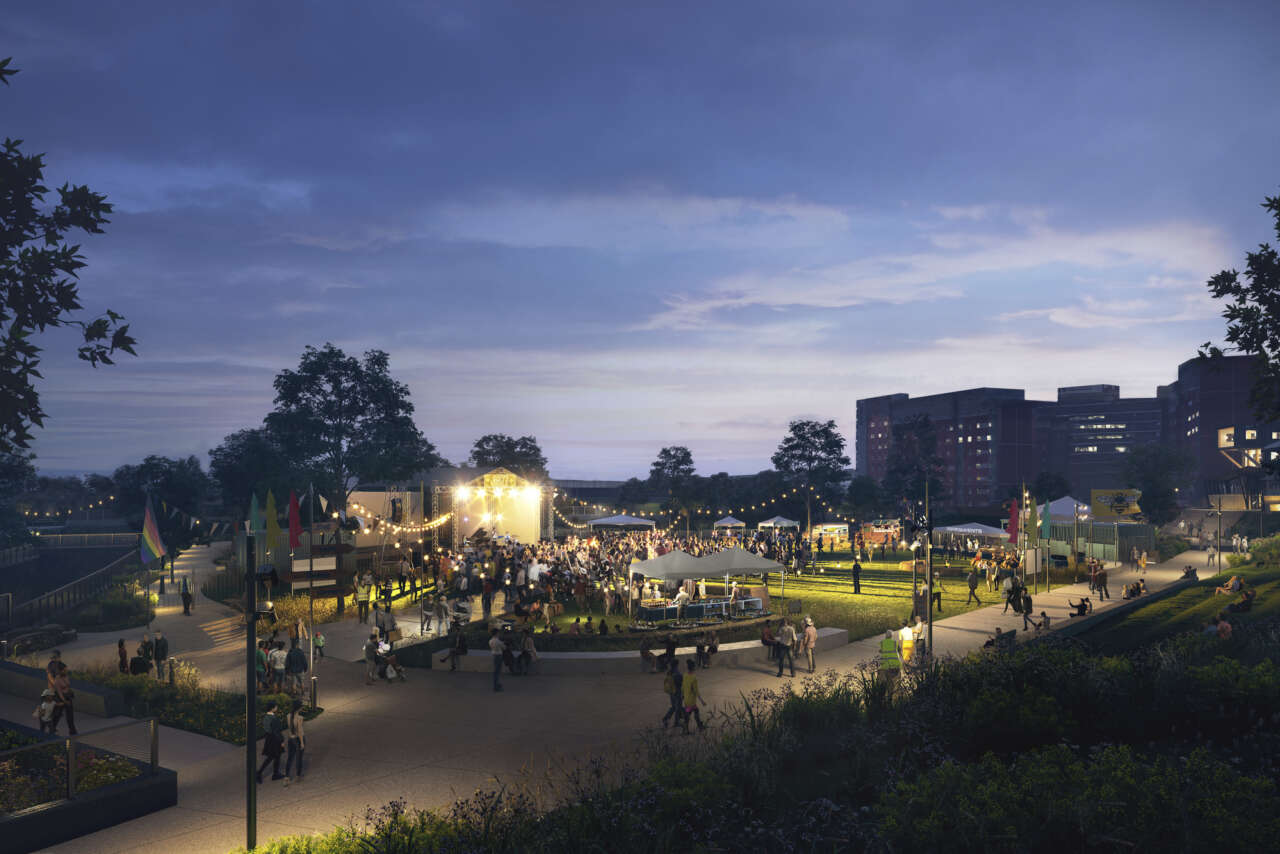 Gillespies appointed as delivery landscape architect for Mayfield Park, Manchester