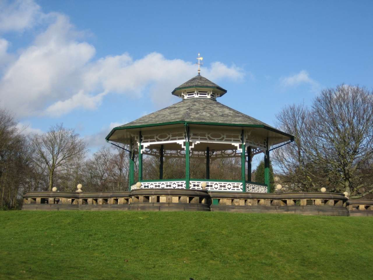 Restoration of Greenhead Park by Gillespies marks 127 years of its history