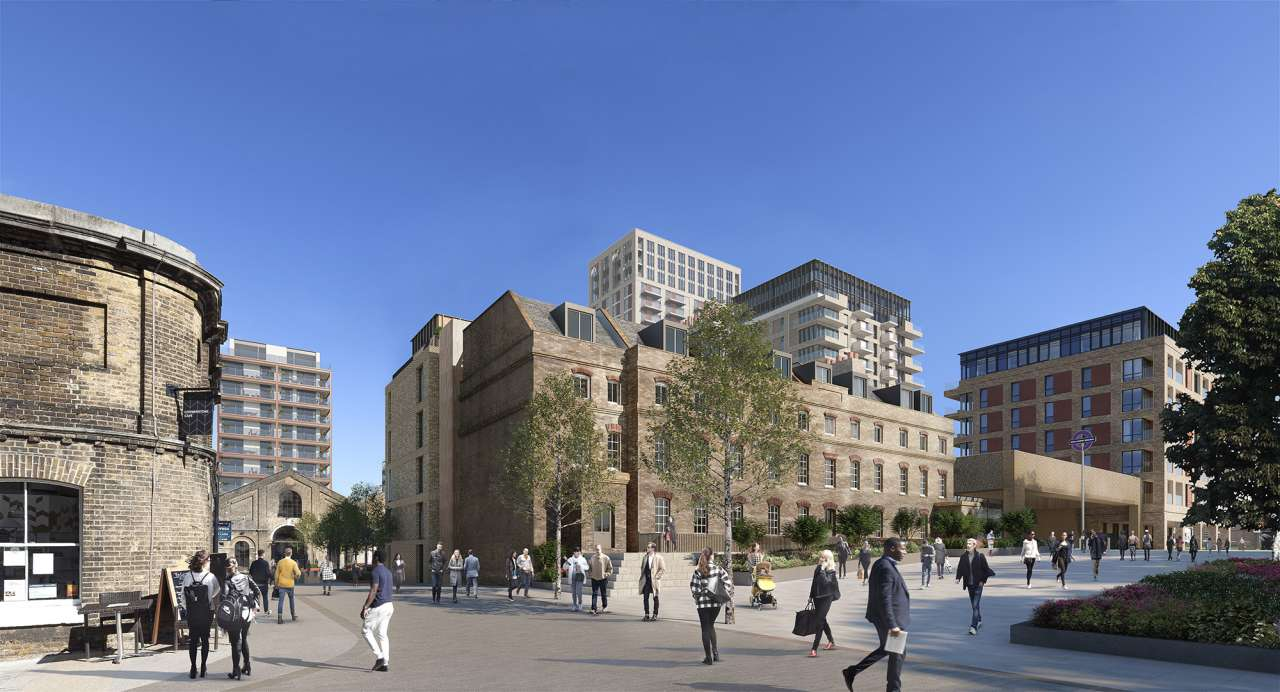 Planning submitted for Royal Arsenal – Buildings 10, 11 and Royal Carriage Square